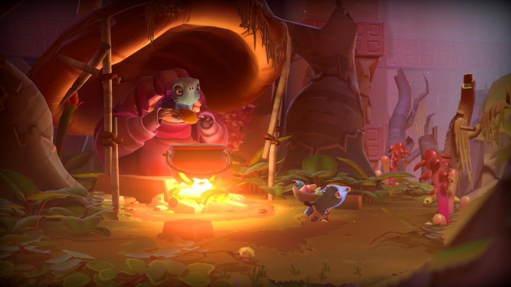 Vous rencontrerez de nombreux personnages inquiétants au cour de votre aventure dans The Last Campfire