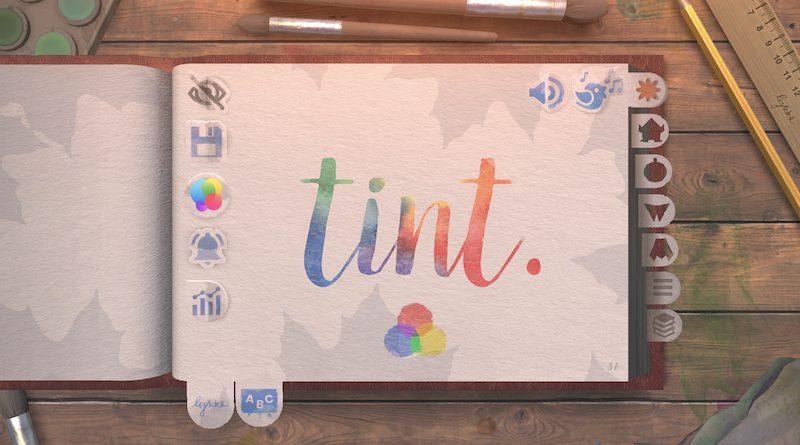Tint. Écran titre