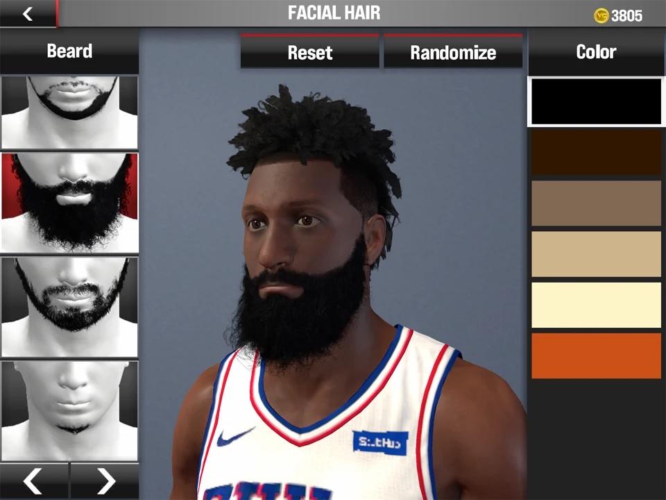 Editeur de joueur du mode Ma carrière de NBA 2K21 Arcade Edition