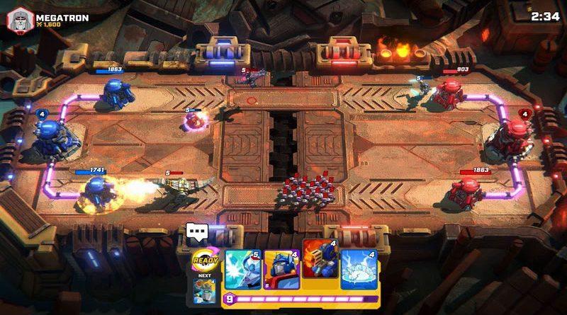 Transformer: Tactical Arena image de couverture de l'article